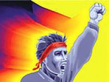 Silivri Hapishanesinde bulunan özgür tutsaklardirenişlere destek amacıyla başlattıkları 1 aylık açlık grevinin 4.